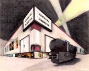 Movie Mixed Media - Movie Theater by Scarlett Royal