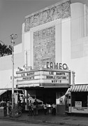 1980s Prints - Movie Theaters, Cameo Theater, Marquee Print by Everett