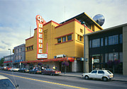 1980s Photo Prints - Movie Theaters, Fourth Avenue Theatre Print by Everett