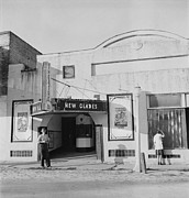 Wolcott Posters - Movie Theatre, The New Glades Theater Poster by Everett