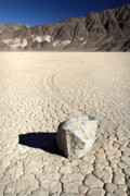 Racetrack Photos - Moving rocks of Death valley by Pierre Leclerc