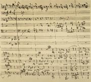 Manuscript Photos - Mozart: Requiem Excerpt by Granger