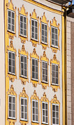 Salzburg Framed Prints - Mozarts house Framed Print by Andrew  Michael