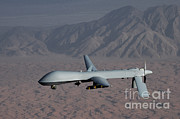 Usaf Framed Prints - Mq-1 Predator Framed Print by Photo Researchers