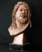 Clay Sculptures - Mr. Ambassador by Wayne Headley