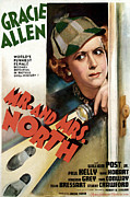 Gracie Prints - Mr. And Mrs. North, Gracie Allen, 1942 Print by Everett