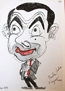 Show Car Drawings - Mr. Bean Lasting lipstick by Paula Salar