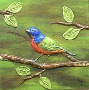 Birds Reliefs - Mr. Bundting by Lorrie T Dunks