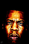 Jay Z Metal Prints - Mr Carter Metal Print by The DigArtisT