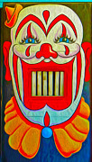 Mr. Clown Teeth Print by Gregory Dyer