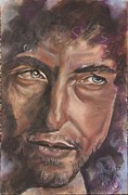 Music Portraits Pastels - Mr Dylan by Mark Anthony