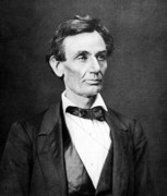 Politicians Metal Prints - Mr. Lincoln Metal Print by War Is Hell Store
