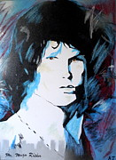 Jim Morrison Paintings - Mr. Mojo Risin by Austin James