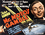 Lorre Posters - Mr. Motos Gamble, Peter Lorre, 1938 Poster by Everett