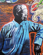 Mr. Nelson Mandela Print by Juergen Weiss