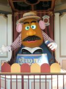 California Adventure Park Posters - Mr Potato Head Poster by Alisha Carroll