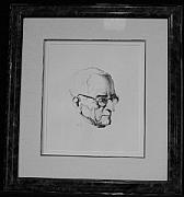 Original Lithographs Drawings - Mr. President F.83 by Thomas Hart Benton