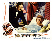Rains Prints - Mr. Skeffington, Claude Rains, Bette Print by Everett