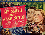 Films By Frank Capra Photos - Mr. Smith Goes To Washington, James by Everett