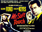 Newscanner Framed Prints - Mr. Soft Touch, Evelyn Keyes, Glenn Framed Print by Everett