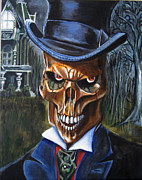 Haunted  Paintings - Mr. Styx by Chris Benice