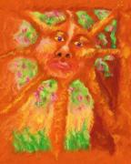 Goddess Art - Mr Sun by Shelley Bain