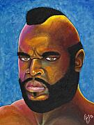 Boxer Painting Prints - Mr. T Got Robbed Fool Print by Chris  Fifty-one