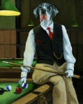 Anthropomorphic Posters - Mr. Thomas Tudor - Great Dane portrait Poster by Linda Apple
