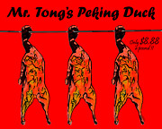 Peking Prints - Mr Tongs Peking Duck Print by Wingsdomain Art and Photography