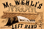 Piano Man Posters - Mr. Wehlis Left Hand Poster by Marcie Adams Eastmans Studio Photography