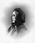Ringlets Art - Mrs. Franklin Pierce, Engraved By Jc by Everett