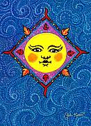 Sun Drawings - Mr.Sun by John Keaton