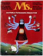Housewife Prints - Ms. Magazine, 1972 Print by Granger