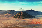 Park Scene Photo Framed Prints - Mt. Bromo, Indonesien Close-up Framed Print by Daniel Osterkamp