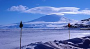 Research Photo Originals - Mt Erebus - McMurdo by David Barringhaus