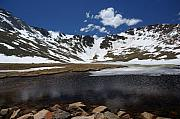 Evans Framed Prints - Mt Evans Framed Print by David Pettit