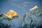 Extreme Emotion Posters - Mt Everest, (left Hand Side) Nepal Poster by Mary Plage