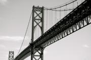 Bristol Photo Originals - Mt. Hope Bridge by Erica Laucella