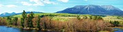 Mt. Katahdin Framed Prints - Mt Katahdin from Abol Bridge Framed Print by Tim  Canwell