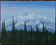 Mckinley Painting Prints - Mt. McKinley Print by Philip Hall