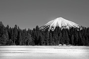 Cold Temperature Art - Mt. Mcloughlin by Brandon Goldman