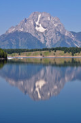 Grand Teton Posters - Mt. Moran Poster by Greg Norrell