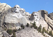 Mount Rushmore Photos - Mt Rushmore  by Angie Vogel