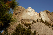 South Dakota Tourism Photos - Mt Rushmore II by Mike Oistad