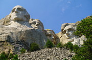 Thomas Jefferson Posters - Mt Rushmore Poster by Jeff  Swan