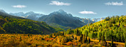 Divide Prints - Mt Sneffels Panorama Print by Ken Smith