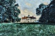 Founding Father Mixed Media - Mt Vernon by John Winner