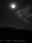 Scenics - Mt Washington Full Moon I by Frank LaFerriere
