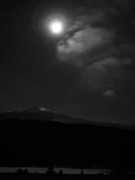 Scenics - Mt Washington Full Moon II by Frank LaFerriere