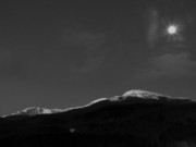 Scenics - Mt Washington Full Moon III by Frank LaFerriere